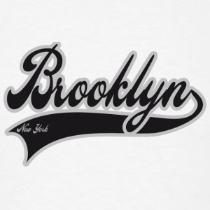 brooklyn new york Buttons - Men's T-Shirt
