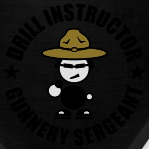 Drill Instructor Gunnery Sergeant T-Shirts - Bandana
