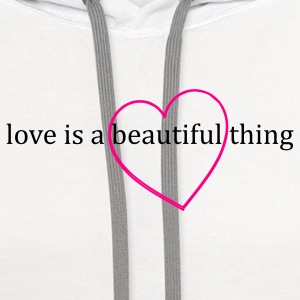 Beautiful Love - Contrast Hoodie