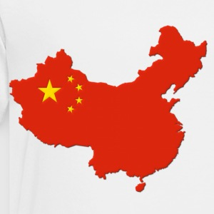 China Map Flag Kids' Shirts - Toddler Premium T-Shirt