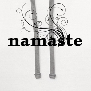 namaste - I honor the Spirit in you which is also in me Women's T-Shirts - Contrast Hoodie