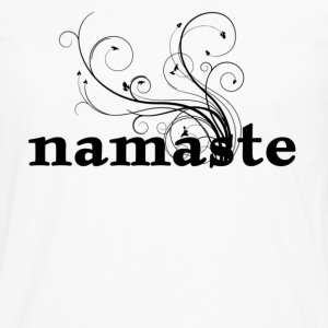 namaste - I honor the Spirit in you which is also in me Women's T-Shirts - Men's Premium Long Sleeve T-Shirt