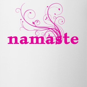 namaste - I honor the Spirit in you which is also in me Women's T-Shirts - Coffee/Tea Mug