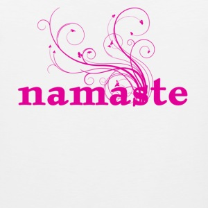 namaste - I honor the Spirit in you which is also in me Women's T-Shirts - Men's Premium Tank