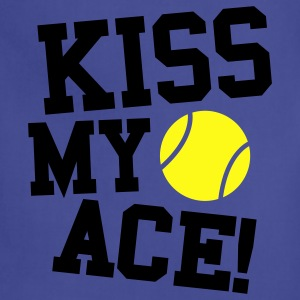 kiss my ace tennis 2 Women's T-Shirts - Adjustable Apron