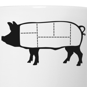 Pork Cuts Diagram Hoodie - Coffee/Tea Mug