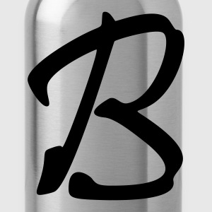 fancyfont_letter_b T-Shirts - Water Bottle