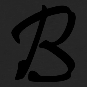 fancyfont_letter_b T-Shirts - Men's Premium Long Sleeve T-Shirt