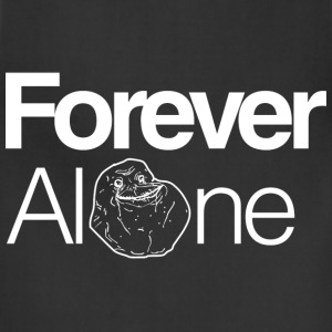 Mens Forever Alone Tee - Adjustable Apron