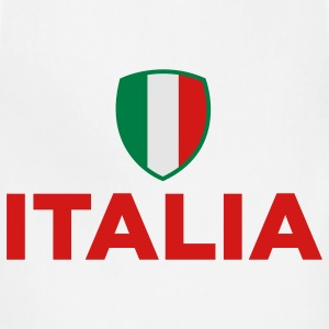 Italy Emblem Small 1 (3c) Hoodies - Adjustable Apron