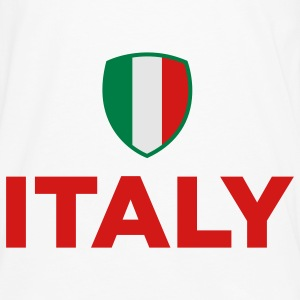 Italy Emblem Small 2 (3c) Kids' Shirts - Men's Premium Long Sleeve T-Shirt