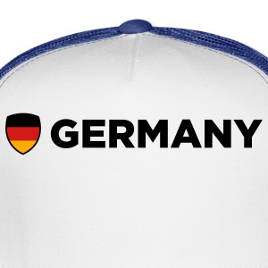 Germany Emblem Side 1 (3c) Polo Shirts - Trucker Cap