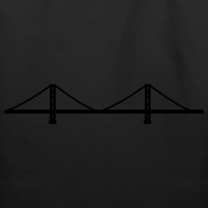 San Francisco - Golden Gate Bridge  Kids' Shirts - Eco-Friendly Cotton Tote