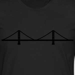 San Francisco - Golden Gate Bridge  Kids' Shirts - Men's Premium Long Sleeve T-Shirt