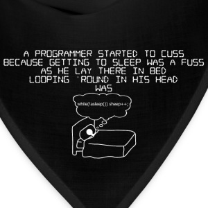 programmer !asleep - mens - Bandana