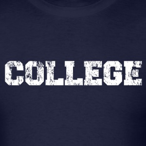 Animal House COLLEGE Vintage Long Sleeve T-Shirt - Men's T-Shirt