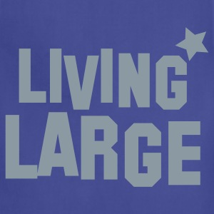 living large Hoodies - Adjustable Apron