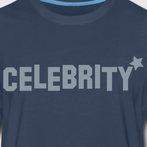 celebrity with star  Hoodies - Men's Premium Long Sleeve T-Shirt