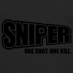 Sniper One Shot One Kill Caps - Men's Premium Long Sleeve T-Shirt