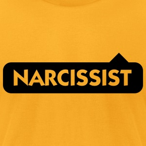 Narcissist (1c) Bags  - Men's T-Shirt by American Apparel