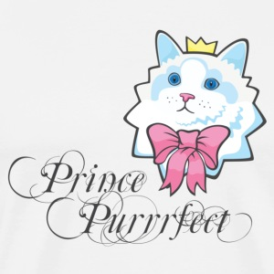 Prince Purrfect Kawaii Cat Tanks - Men's Premium T-Shirt