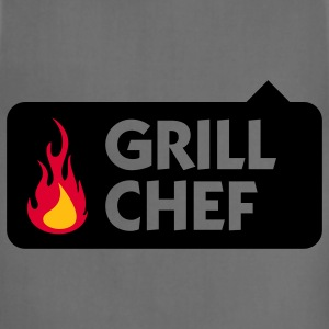 Grill Chef 1 (3c) T-Shirts - Adjustable Apron