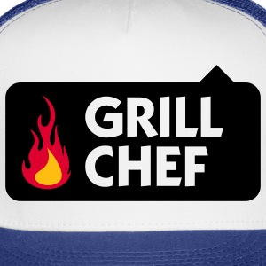 Grill Chef 1 (3c) Polo Shirts - Trucker Cap