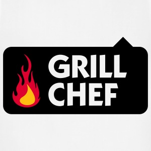 Grill Chef 1 (3c) Polo Shirts - Adjustable Apron