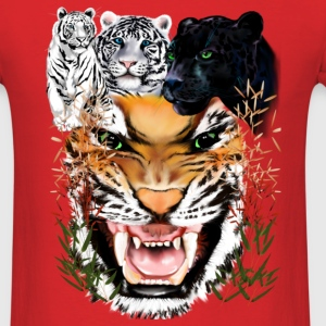 Big Cats - Men's T-Shirt