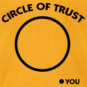 Circle of Trust (1c) Bags  - Men's T-Shirt by American Apparel