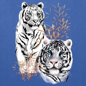 White Tigers  - Tote Bag