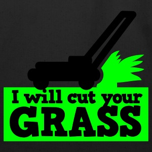 I will cut your grass simple lawn mower T-Shirts - Eco-Friendly Cotton Tote