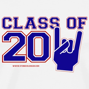 Class of 2011 graduation red,white and blue Buttons - Men's Premium T-Shirt