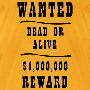 Wanted Bags  - Men's T-Shirt by American Apparel