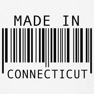 Made in Connecticut Buttons - Men's T-Shirt