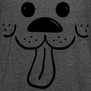 Dog with a waggly tongue - Women's Flowy Tank Top by Bella
