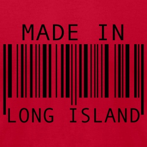 Made in Long Island Long Sleeve Shirts - Men's T-Shirt by American Apparel
