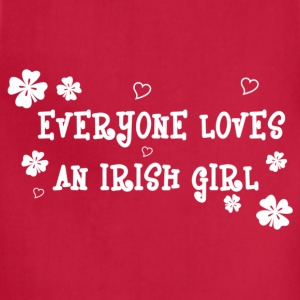 Everyone Loves An Irish Girl - Adjustable Apron