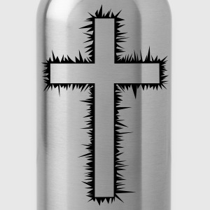 Christian Cross (V) Women's T-Shirts - Water Bottle