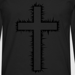 Christian Cross (V) Women's T-Shirts - Men's Premium Long Sleeve T-Shirt