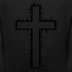 Christian Cross (V) Women's T-Shirts - Men's Premium Tank