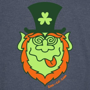 St Paddy's Day Mad Leprechaun Hoodies - Vintage Sport T-Shirt
