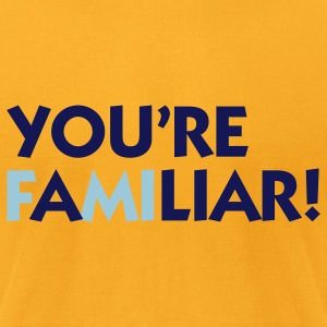 You're a Liar (2c) Bags  - Men's T-Shirt by American Apparel