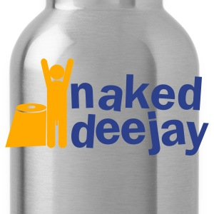 naked deejay (with a willy) Zip Hoodies/Jackets - Water Bottle