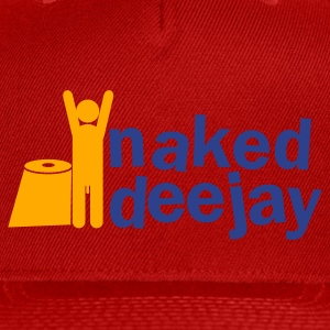 naked deejay (with a willy) Zip Hoodies/Jackets - Snap-back Baseball Cap