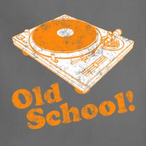 Turntable Old School T-Shirts - Adjustable Apron