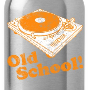 Turntable Old School T-Shirts - Water Bottle