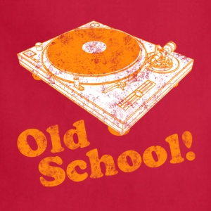 Turntable Old School Hoodies - Adjustable Apron