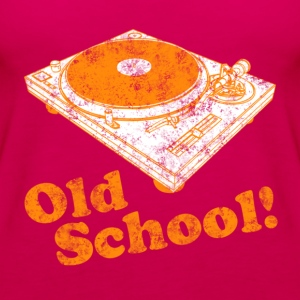 Turntable Old School Hoodies - Women's Premium Tank Top