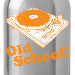 Turntable Old School Kids' Shirts - Water Bottle